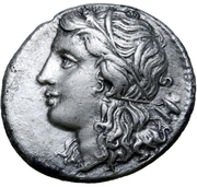 Oktobol - Pyrrhos – avers