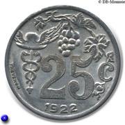 25 centimes - Union des Commerçants Détaillants - Epernay [51] – revers