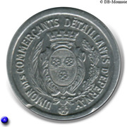 10 centimes - Union des Commerçants Détaillants - Epernay [51] – avers