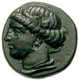 Bronze Æ10 (Ephesos) – avers