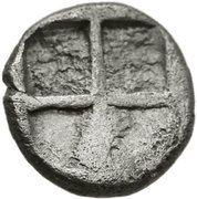 Obol (Ephesos) – revers