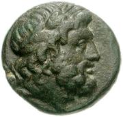 Bronze Æ17 (Epidauros) – avers