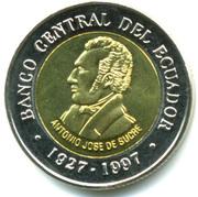100 sucres (Banque centrale) -  avers
