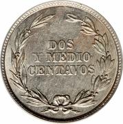 2½ centavos -  avers