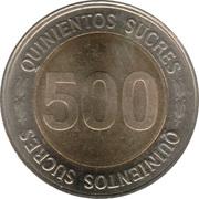 500 sucres Banque centrale -  revers