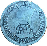 2 reales (Contremarque) – avers