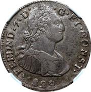 2 reales - Fernando VII – avers