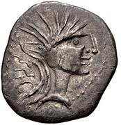 Denarius (Jupiter) – avers
