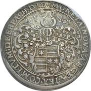 1 Thaler - Ludwig II, Johann Kasimir et Georg Albrecht – avers