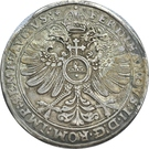 1 Thaler - Ludwig II, Johann Kasimir et Georg Albrecht – revers