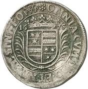 60 Kreuzer - Georg Albrecht II. – revers