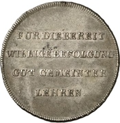 1 Thaler - Franz (Kleetaler) – revers