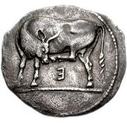Didrachm (Eretria) – avers