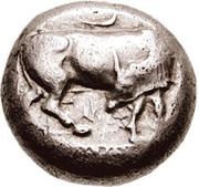 Tetradrachm (Eretria) – avers