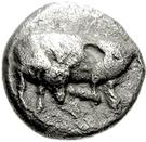 Drachm (Eretria) – avers