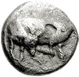 Drachm (Eretria) -  avers