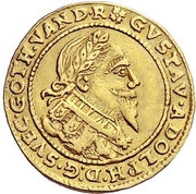 1 Ducat - Gustav Adolf II. – avers