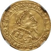 1 Ducat - Gustav Adolf II (Occupation suédoise) – avers