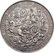 5 Thaler - Gustav Adolph II (Décès) – revers