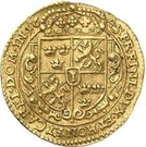 1 ducat Christina – revers