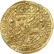 1 ducat Christina – revers