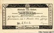 12 Groschen (Siege of Erfurt) – avers