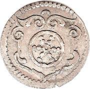 3 Pfennig (Dreier) – revers