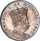 50 centesimi - Humbert I – avers