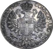 1 tallero / 5 lires - Vittorio Emanuele III – revers