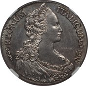 1 Tallero / 5 Lire - Vittorio Emanuele III (Essai) – avers