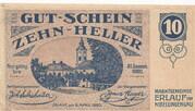 10 Heller (Erlauf im Nibelungengau) -  avers
