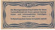10 Heller (Erlauf im Nibelungengau) -  revers