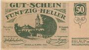 50 Heller (Erlauf im Nibelungengau) -  avers