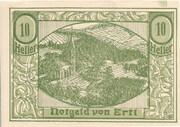 10 Heller (Ertl) -  avers