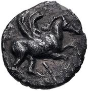 Trihemiobol (Erythrai) – avers