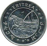 1 dollar (Faucon) – avers