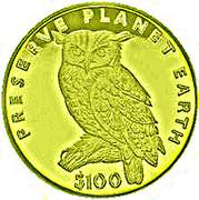 100 Dollars (Grand-duc du Cap) – revers