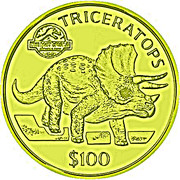 100 Dollars (Jurassic Park) – revers