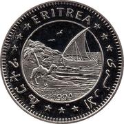 1 dollar (Guépard) – avers