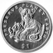 1 dollar (Lions) -  revers
