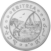 10 dollars (Indépendance) – avers