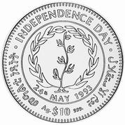 10 Dollars (Indépendance) – revers