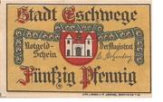 50 Pfennig (Eschwege) – avers