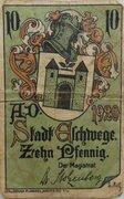 10 Pfennig Eschwege – avers