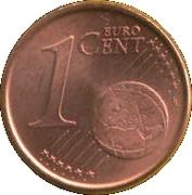 1 cent d'euro (1er type) -  revers