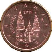 2 cents d'euro (2e type) -  avers