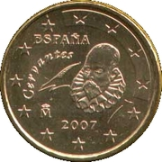 10 cents d'euro (2e carte, 1er type) -  avers