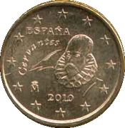 10 cents d'euro (2e carte, 2e type) -  avers