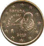 10 cents d'euro (2e carte, 2e type) -  avers