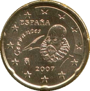 20 cents d'euro (2e carte, 1er type) -  avers